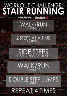 Use These Pinterest Workouts for Your Next Home-Based Routine: Stair Workout