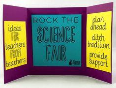 Science Fair Tips written by teachers for teachers