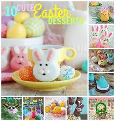 10 Cute Easter Desserts