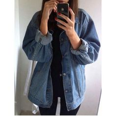 lightweight dark blue jean jacket