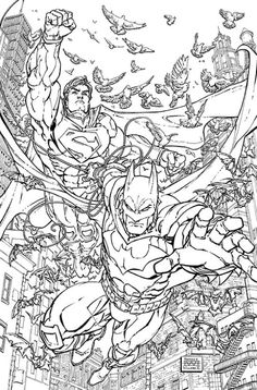 dc comics coloring pages # 5