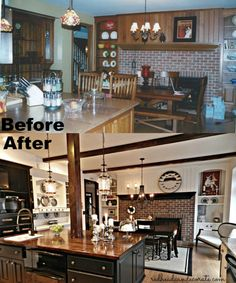Kitchen Makeover Before & After Redhead Can Decorate