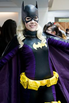 Bat Girl at San Diego Comic Con 2013