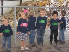 The Mamminas: A Garbage Truck Birthday Party! Such cute shirts--including the pink one!