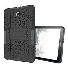 Samsung Galaxy Tab A 10.1 Case - Anna Shop Hybrid High Impact Premium Rugged Cover with Kickstand Drop Protection and Shock Absorbent Case for Samsung Galaxy Tab A (SM-T580/SM-T585) Case 2016 Release -- You can find more details by visiting the image link.
