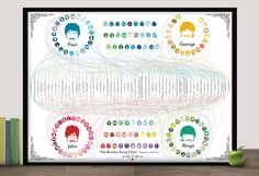 Pop Chart Lab --> Design + Data = Delight --> The Beatles Song Chart Volume 2