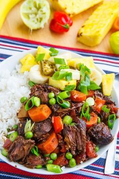 Jamaican Style Jerk Beef Stew Jamaican Cuisine, Jamaican Dishes, Jamaican Recipes, Cuban Recipes, Carribean Food, Caribbean Recipes, Cooking Recipes, Healthy Recipes, Sauce Recipes