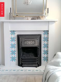 Fabulous Fireplaces: 5 Big-Impact, Easy DIY Ideas for a Quick Fireplace Makeover | Apartment Therapy