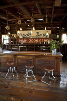 The bar in my barn~hubby would like this!