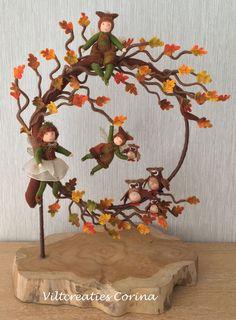 Felt Creations Corina: New pattern sheets Autumn Crafts, Thanksgiving Crafts, Christmas Crafts, Fairy Crafts, Felt Crafts, Waldorf Crafts, Felt Wreath, Felt Garland, Needle Felting Tutorials