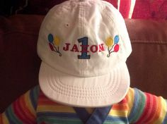 Personalized Birthday  infant Baseball Hat by EmbroiderybySharon $15.50