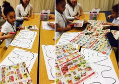 Kids' Adventures before and after school care kids learn about good nutrition…