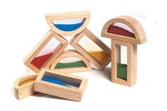 """Rainbow Blocks - Sand Filled - Set of 8 (Multi) (approx 1"""" x 1"""" x 1"""") - Listing price: $44.79 Now: $25.82"""
