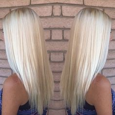 It'S not easy to maintain a platinum hair color, but the results are always worth it in the end. Summer Blonde Hair, Brown Blonde Hair, White Blonde, Blonde Color, Bright Blonde Hair, Brassy Blonde, Brunette Color, Light Blonde, Summer Hair