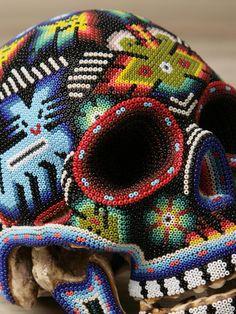 0034 Gallery: Huichol Skull.