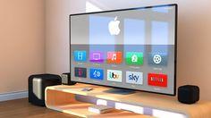 Steve Jobs planeaba una televisión de Apple