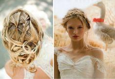 Eva Halvsies wedding hairstyles with braids