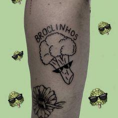 """0ccb1212f Ignorant Style on Instagram: """"www.facebook.com/ignorantstyletattoo repost  from @space.sshit - bróclinhos, o brócolis de oclinhos 💚"""""""