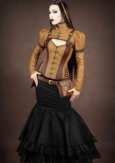Steampunk Corset And Bolero Find This Pin More