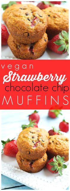 Vegan. Whole grains. No refined sugar. Delicious. A perfect healthy muffin recipe!