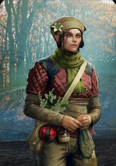 Havekar Healer (Gwent Card) - The Witcher Wild Hunt Game Concept Art, Character Concept, Character Art, Witcher Art, The Witcher 3, Skins Characters, Fantasy Characters, Female Character Inspiration, Fantasy Inspiration