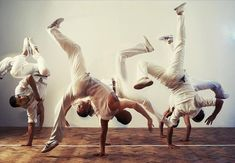 Trained in Capoeira for a month in August 2013