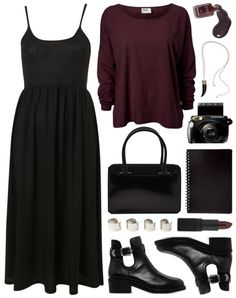 Polyvore Gore: not really into those shoes though