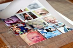 How to Make Photo Magnets: An Easy & Inexpensive DIY Silhouette project!