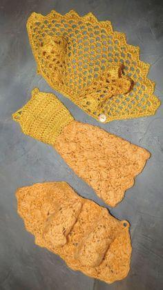 Best 12 Crochet pattern (PDF) for fashion doll – Emerald Isle lacy cardigan – SkillOfKing. Barbie Patterns, Doll Clothes Patterns, Barbie Style, Amigurumi Patterns, Crochet Patterns, Barbie Hairstyle, Accessoires Barbie, Crochet Barbie Clothes, Barbie Dress
