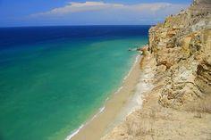 Baía Azul, Benguela, Angola  A praia da minha vida