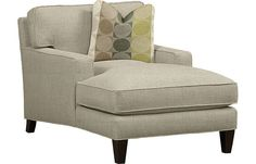 Katy chaise | Havertys Furniture