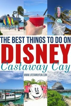 The Best Things to do on Disney's Castaway Cay Castaway Cay is Disney's private island. It's a popular port of call on the Bahamas Disney cruises and there are so many Castaway Cay must-do activities, Disney Fantasy Cruise, Disney Dream Cruise, Disney Cruise Tips, Packing For A Cruise, Disney Vacation Planning, Disney World Trip, Cruise Travel, Cruise Vacation, Disney Vacations