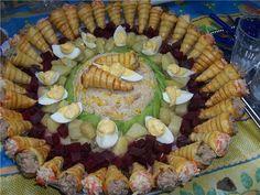 Lalla Moulati. Salade de Cornets. Moroccan Food. Cuisine Marocaine.