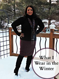 Fashion after Fifty #ootd #winterwear #workwear #snowboots #dressforless #DelawareBlogger