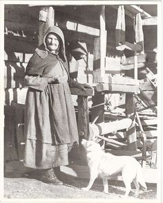 "David Foster | ""Great Great Great Aunt Mary Foust, her dog Pen, and her loom"" 