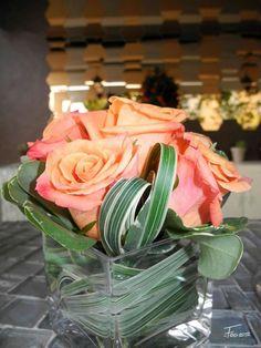 A cute simple flower arrangement
