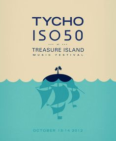 Tycho - Treasure Island Music Festival Poster
