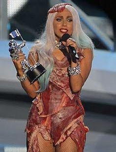 Dress Like Lady Gaga - Halloween Bacon Costumes