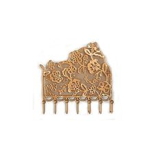 Gold lace jewelry hook
