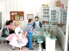 dollhouse miniature malt shop