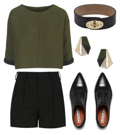 Classic by vilciune on Polyvore featuring Topshop, Yves Saint Laurent, Acne Studios, Mulberry, women's clothing, women's fashion, women, female, woman and misses