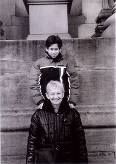 NYC Logan & Mom- 1990's