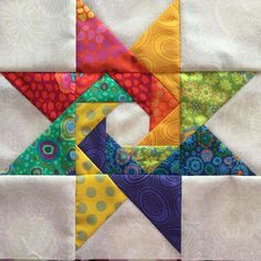 "This is a Judy Martin pattern called ""Building Blocks,"" from ""Stars and Sets."""