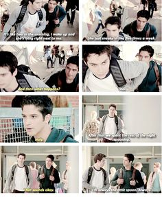 teen wolf 4x02: Look at Stiles being all submissive! *swoon*