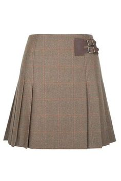 So cute! Love this little tweed skirt. Short Pleated Tweed Skirt #QHCongress13 Dubarry of Ireland