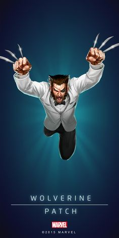 Wolverine Patch Poster-02