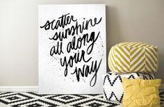 GroopDealz | Scatter Sunshine Printable