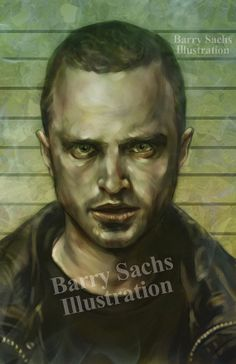 Breaking Bad Jesse Pinkman 11x17 Print by BarrySachsBarryGood, $15.00