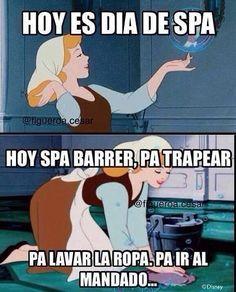 "Es un hermoso día de ""spa""  . #TalentoVenezolano #Mama #Bebe  #HechoaMano  #Lactancia #Lactanciamaterna #Lactanciaexclusiva #Mamaprimeriza #meme #fun #Funny #jajaja #viral #cenicienta #Cinderella #Breastfeeding #Mom #Baby  #Instamom  #NaitaEspinosa @naitaespinosa Naita Espinosa #spa #sabado #saturday"