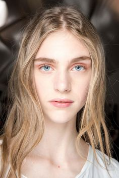 Dior Fall 2015 Couture Hair and Makeup - Glowy Skin, Backstage Beauty
